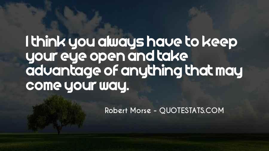 Robert Morse Quotes #1631900
