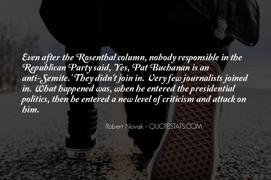 Robert Novak Quotes #257429