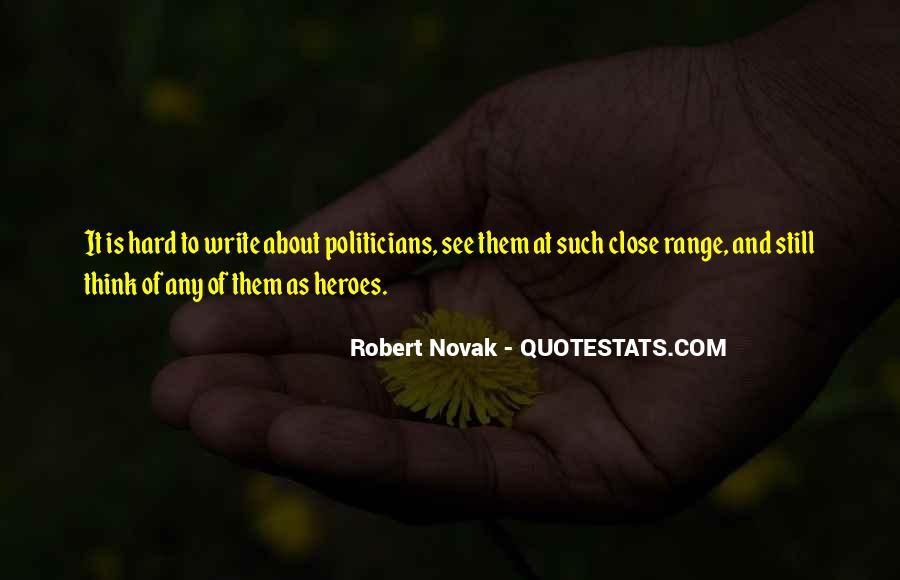 Robert Novak Quotes #357008
