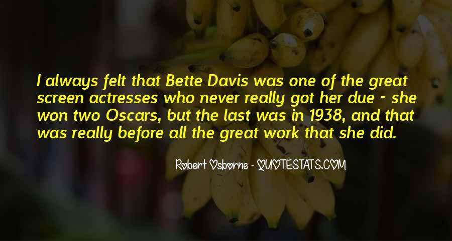 Robert Osborne Quotes #1159037