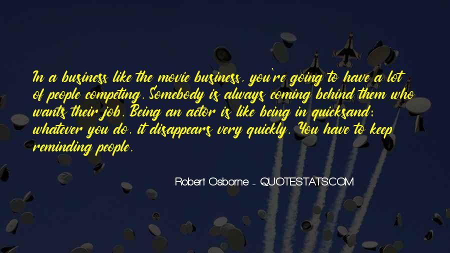 Robert Osborne Quotes #1341651