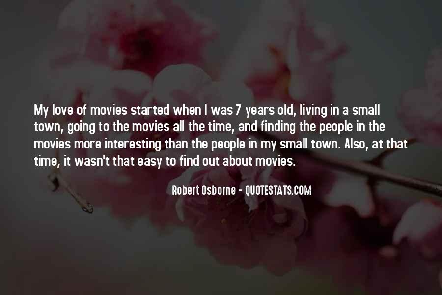 Robert Osborne Quotes #1777896