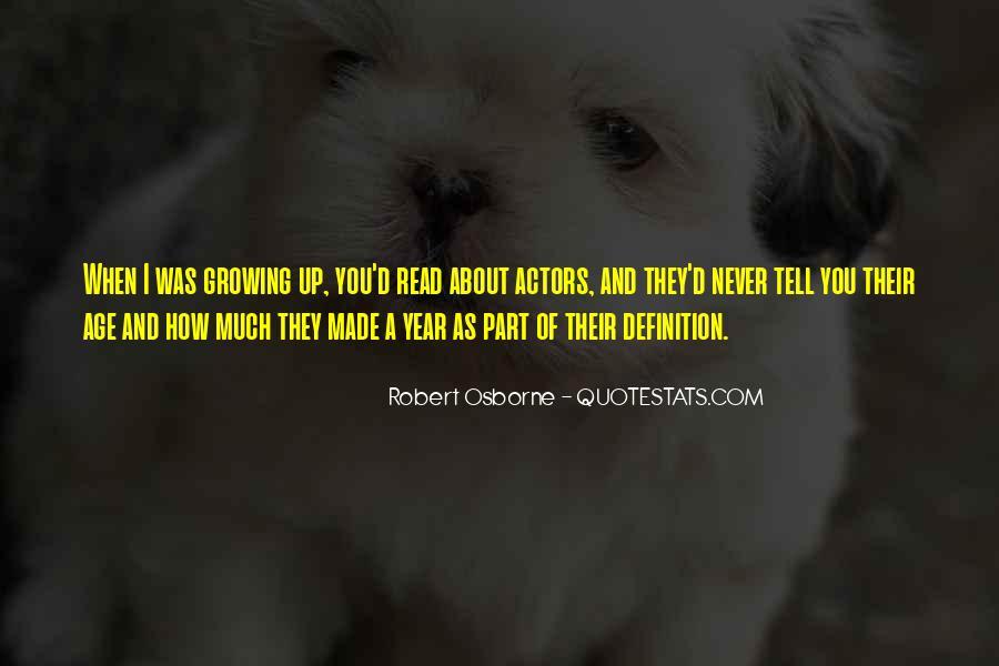 Robert Osborne Quotes #1853333