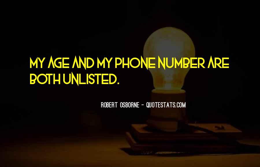 Robert Osborne Quotes #423017