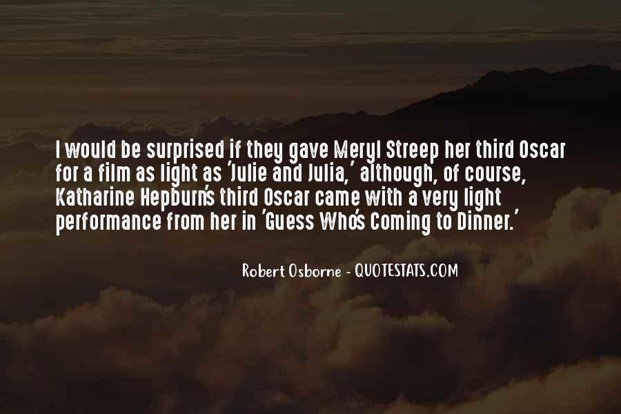 Robert Osborne Quotes #458460