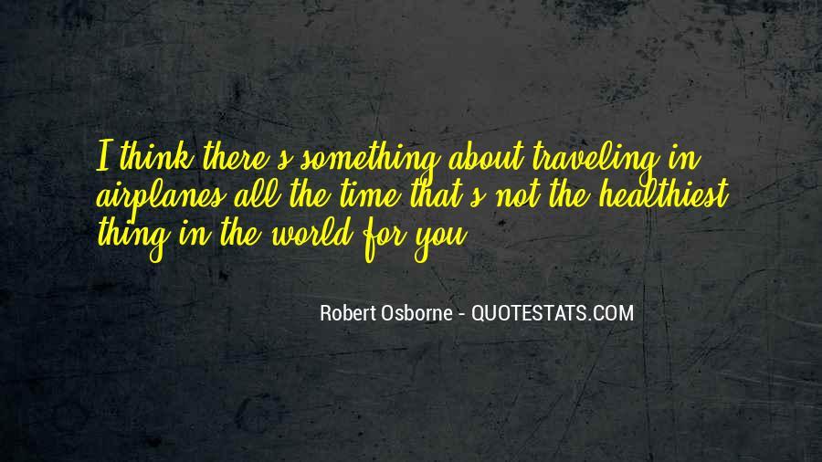 Robert Osborne Quotes #501187
