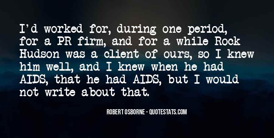 Robert Osborne Quotes #7588