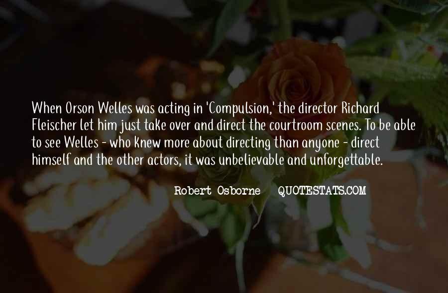 Robert Osborne Quotes #934752