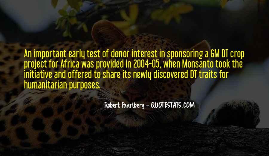 Robert Paarlberg Quotes #623215