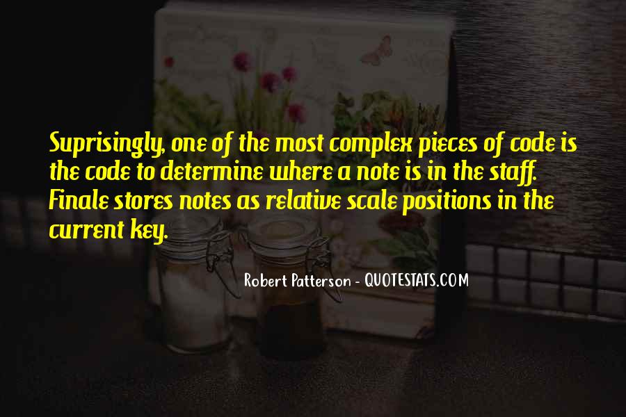 Robert Patterson Quotes #1696483