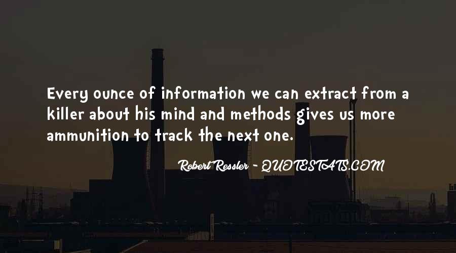 Robert Ressler Quotes #1431375