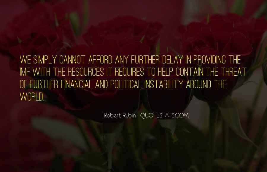 Robert Rubin Quotes #1057603