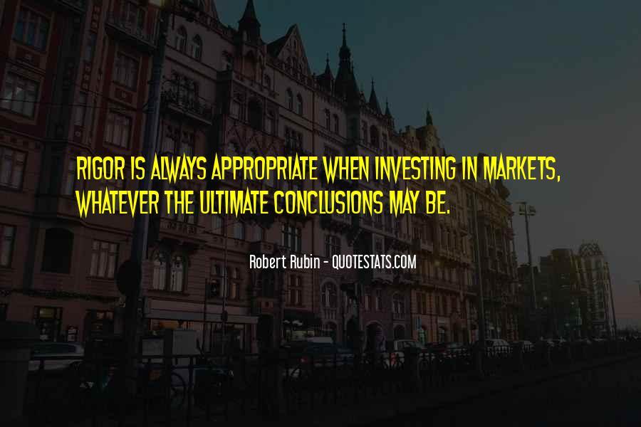 Robert Rubin Quotes #1610807