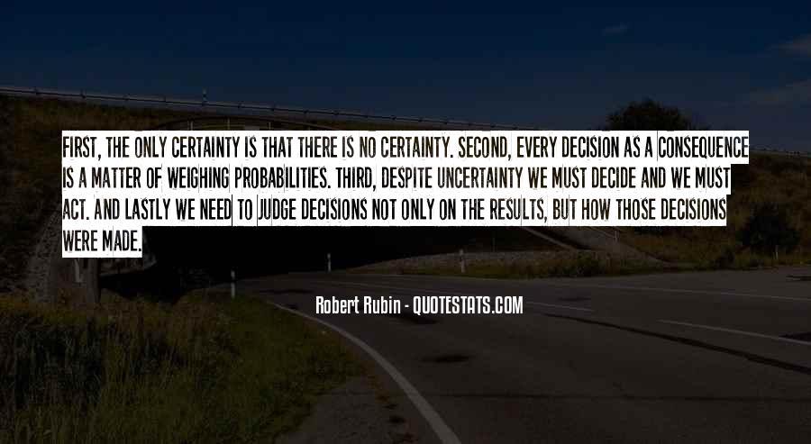 Robert Rubin Quotes #1655570