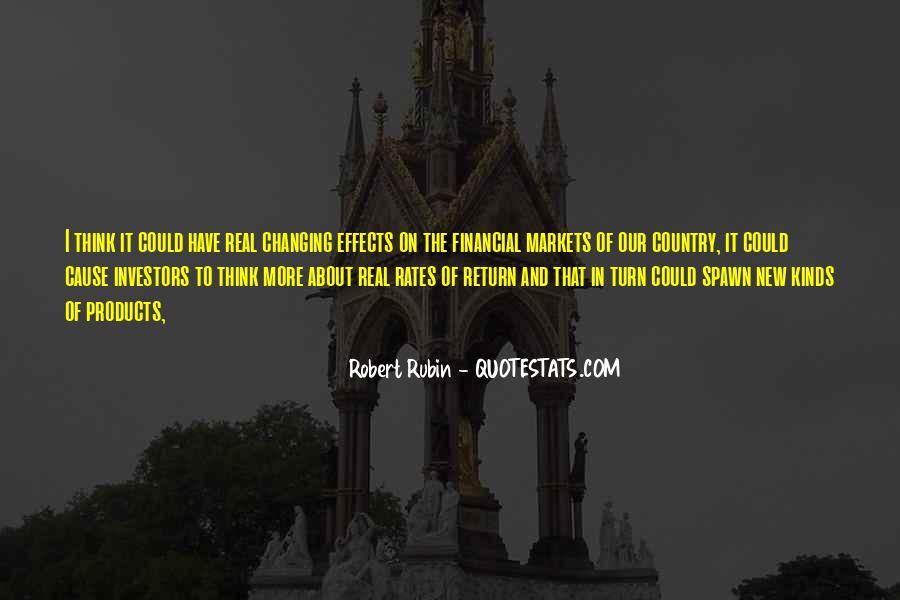 Robert Rubin Quotes #1770961