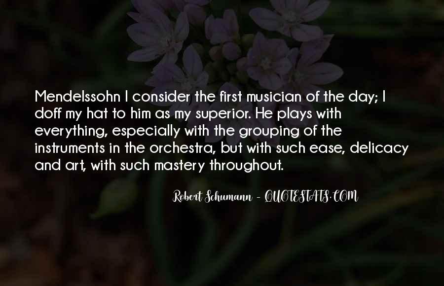 Robert Schumann Quotes #1326557