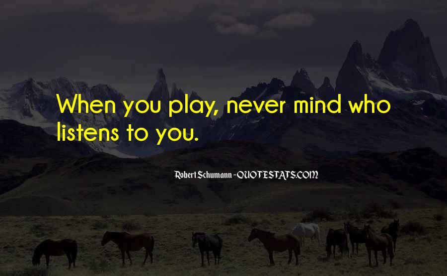 Robert Schumann Quotes #1428456