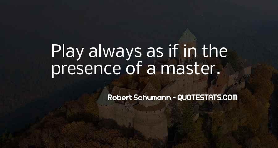 Robert Schumann Quotes #1834455