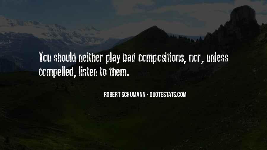 Robert Schumann Quotes #87619