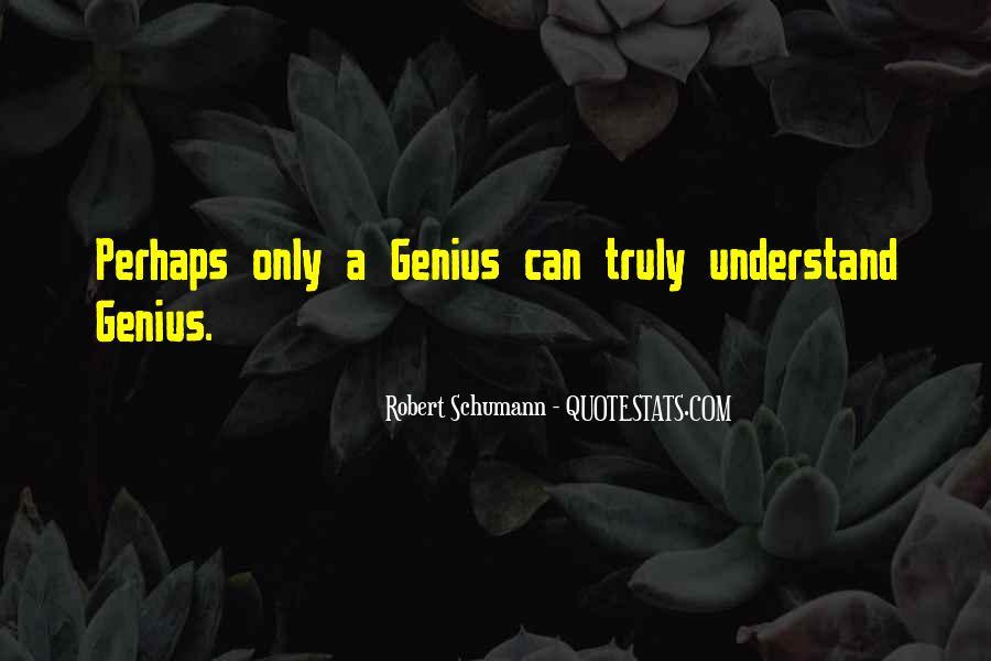 Robert Schumann Quotes #982386