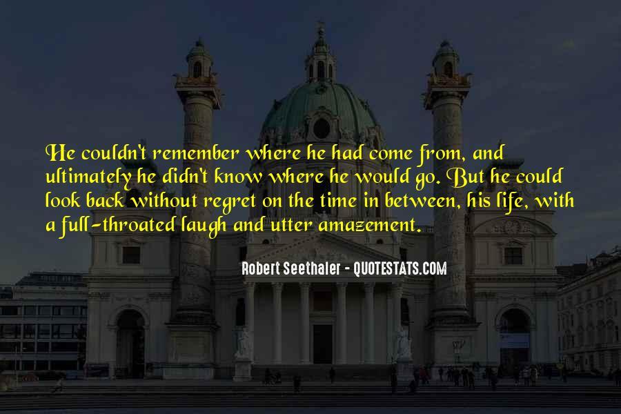 Robert Seethaler Quotes #48162
