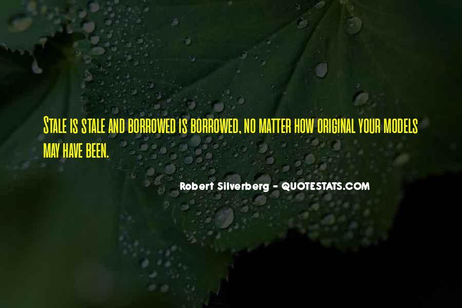 Robert Silverberg Quotes #1358453