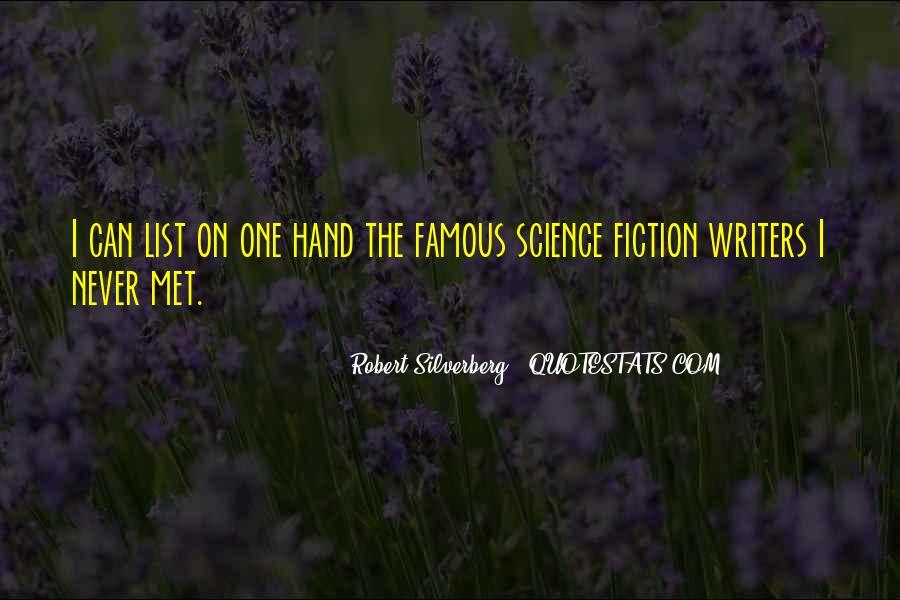 Robert Silverberg Quotes #1398329