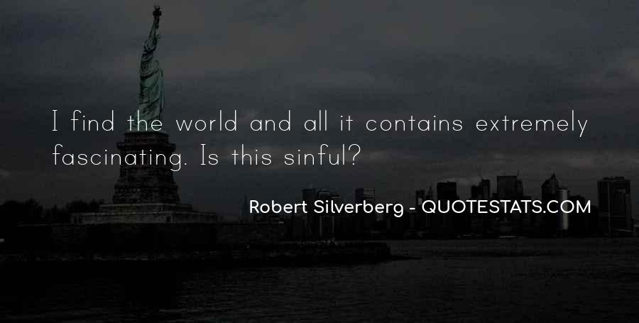 Robert Silverberg Quotes #330152