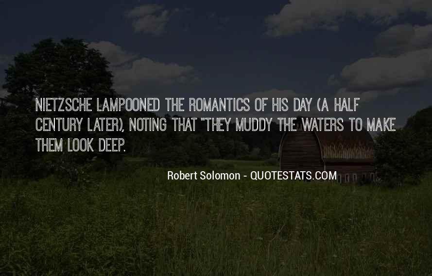 Robert Solomon Quotes #1803966