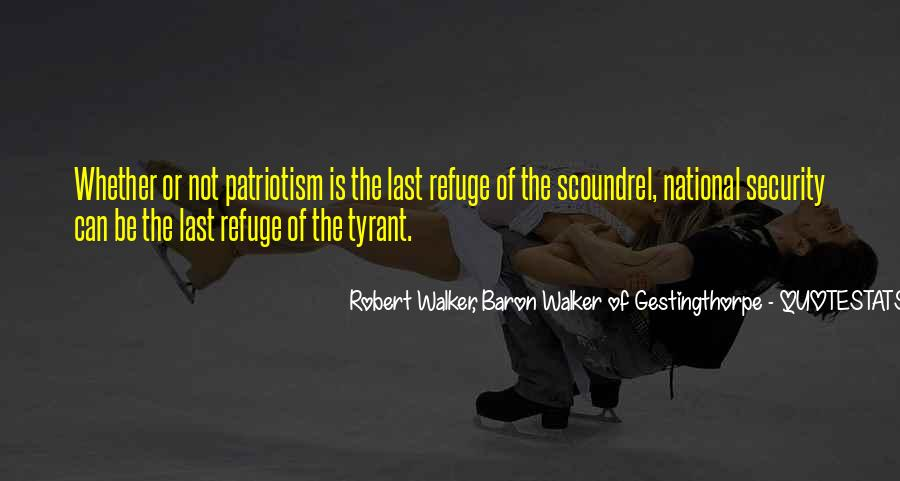 Robert Walker, Baron Walker Of Gestingthorpe Quotes #617702