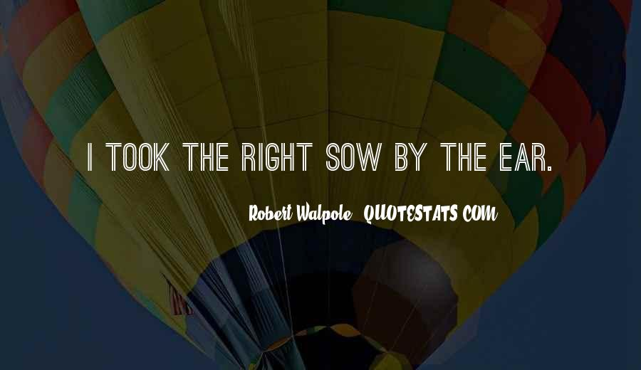 Robert Walpole Quotes #1160482