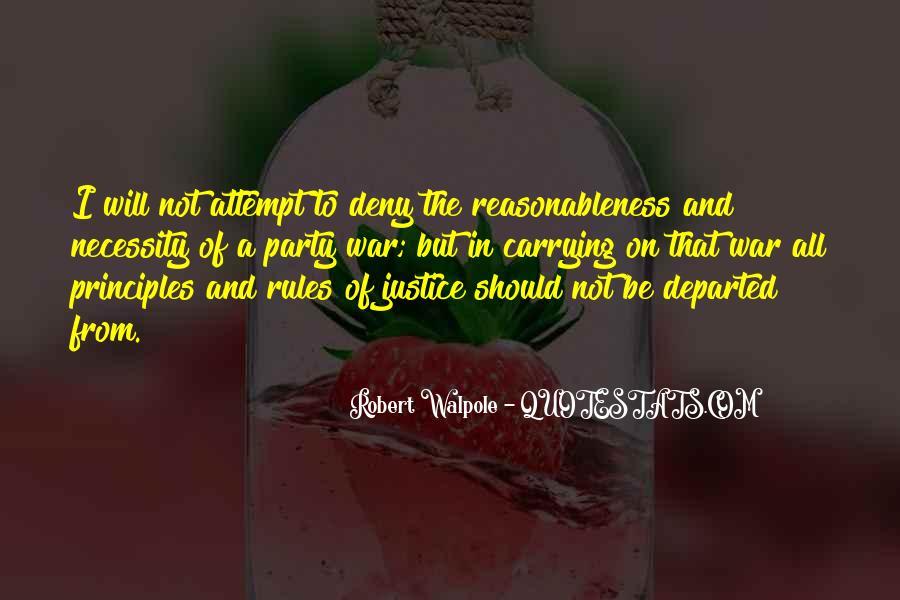 Robert Walpole Quotes #1273891