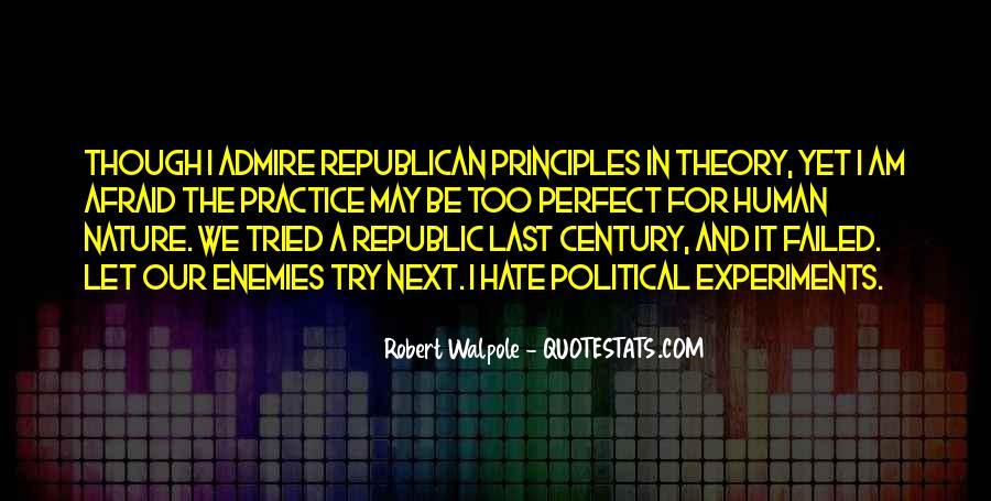 Robert Walpole Quotes #1747879