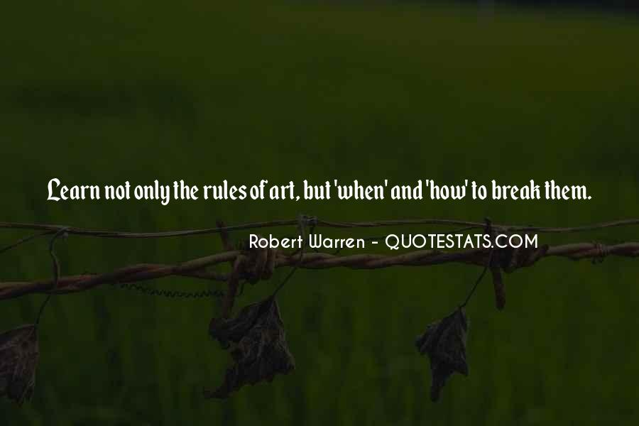 Robert Warren Quotes #1560540
