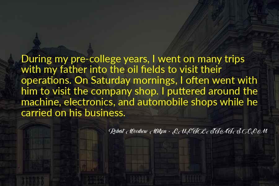 Robert Woodrow Wilson Quotes #1543445