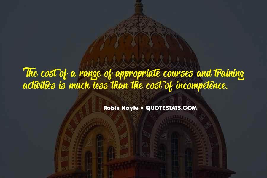 Robin Hoyle Quotes #1085008