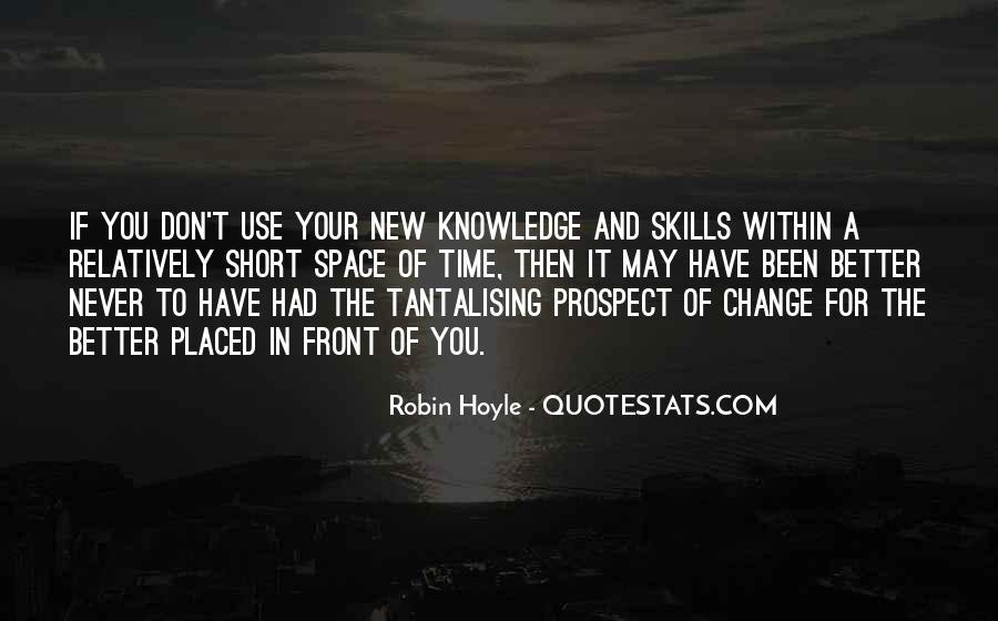 Robin Hoyle Quotes #14607