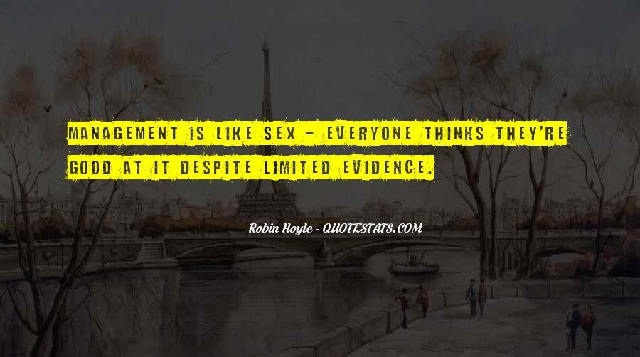 Robin Hoyle Quotes #699390