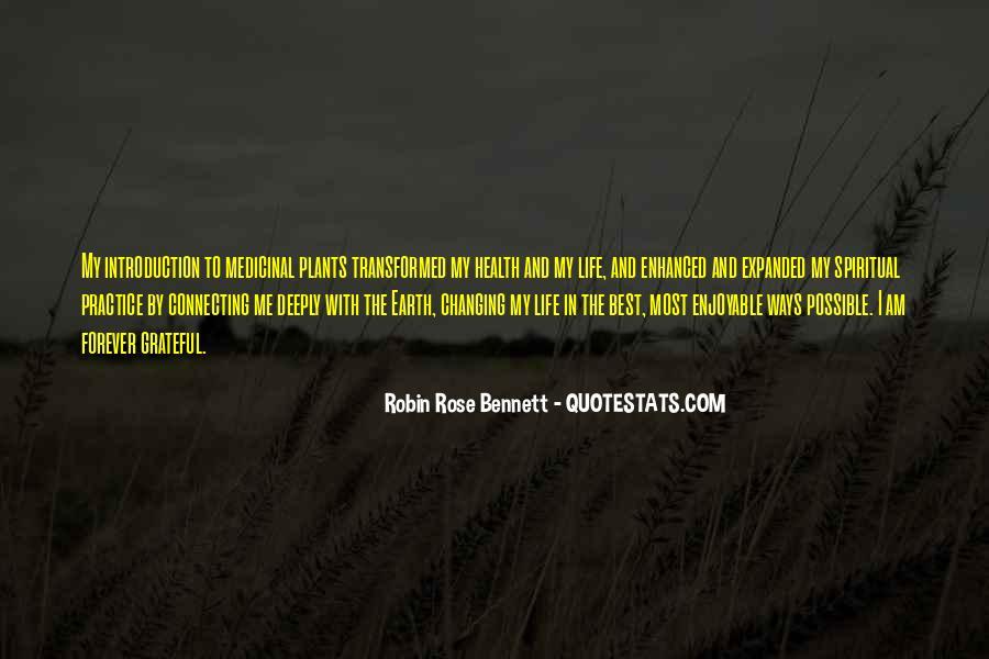 Robin Rose Bennett Quotes #1485144