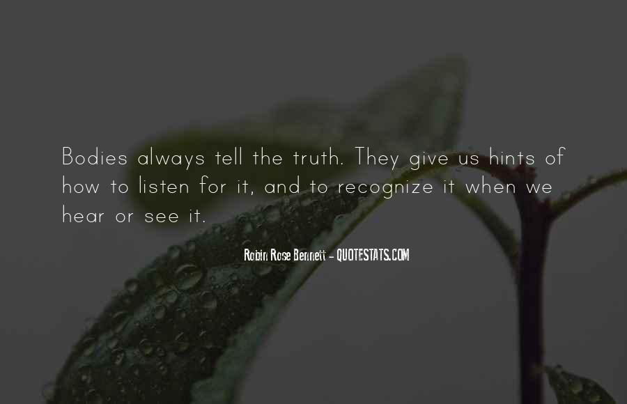 Robin Rose Bennett Quotes #507853
