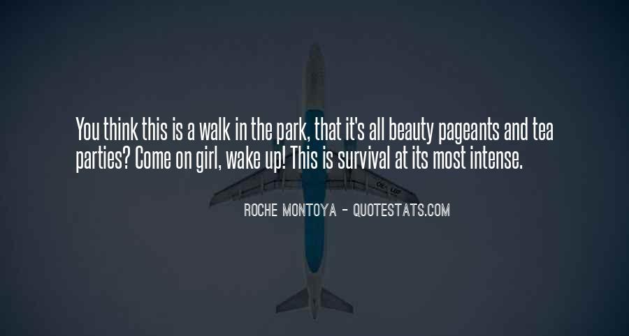 RoChe Montoya Quotes #950913