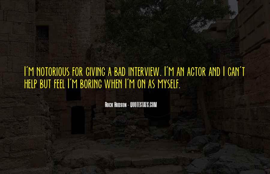 Rock Hudson Quotes #355905
