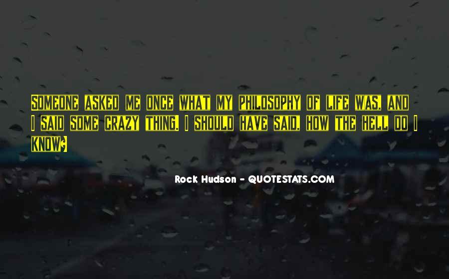Rock Hudson Quotes #742205