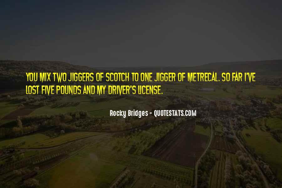 Rocky Bridges Quotes #1605666