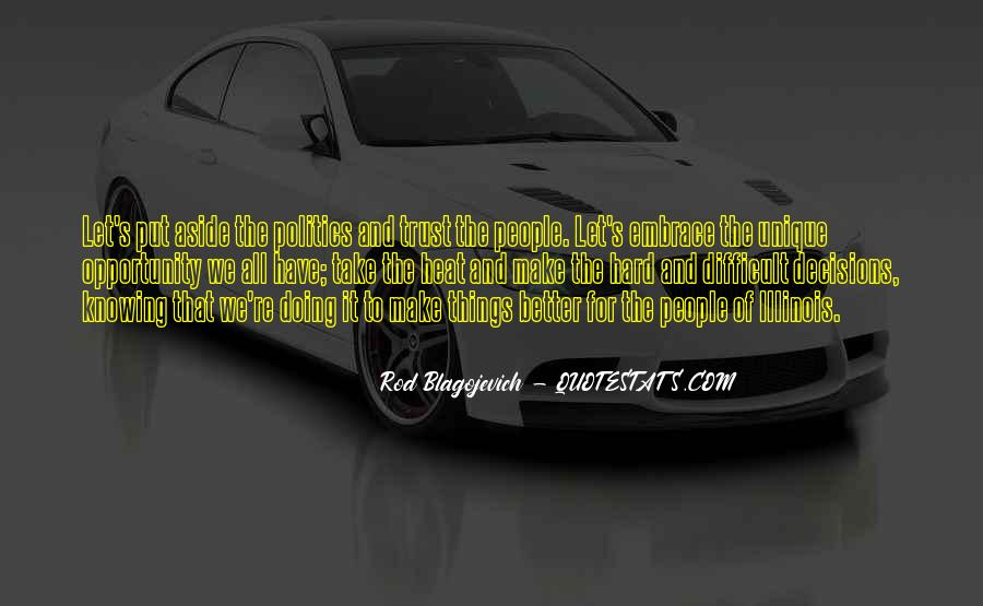 Rod Blagojevich Quotes #830275