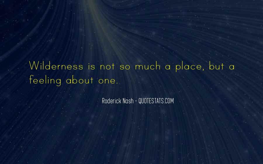 Roderick Nash Quotes #1033584