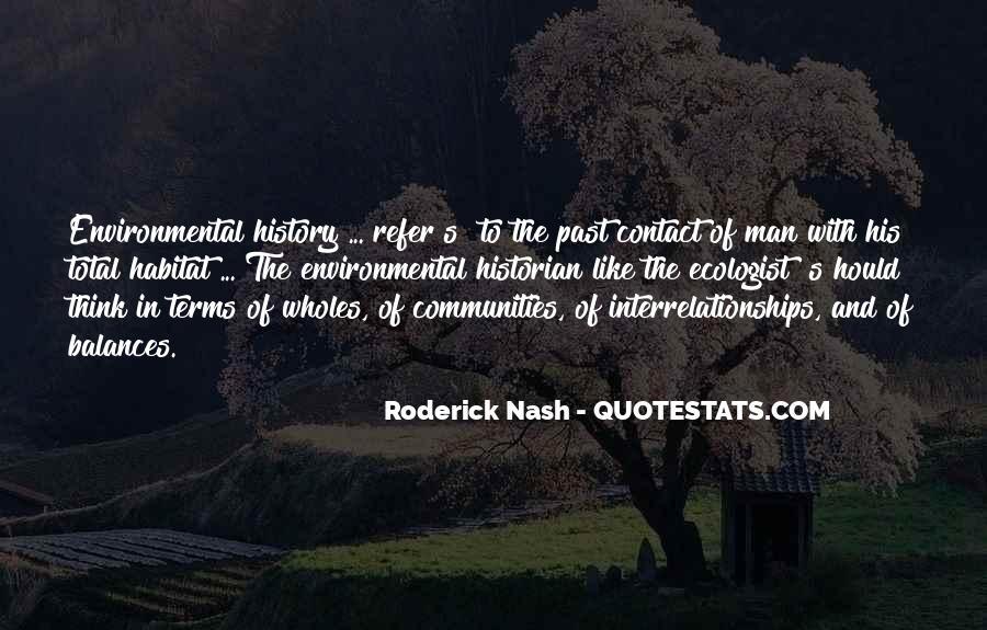 Roderick Nash Quotes #3195