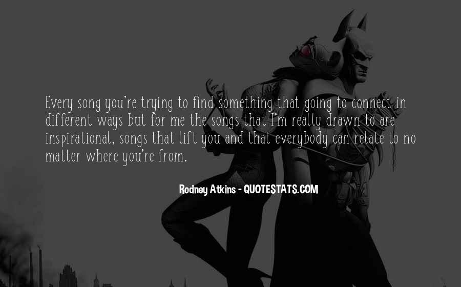 Rodney Atkins Quotes #278593