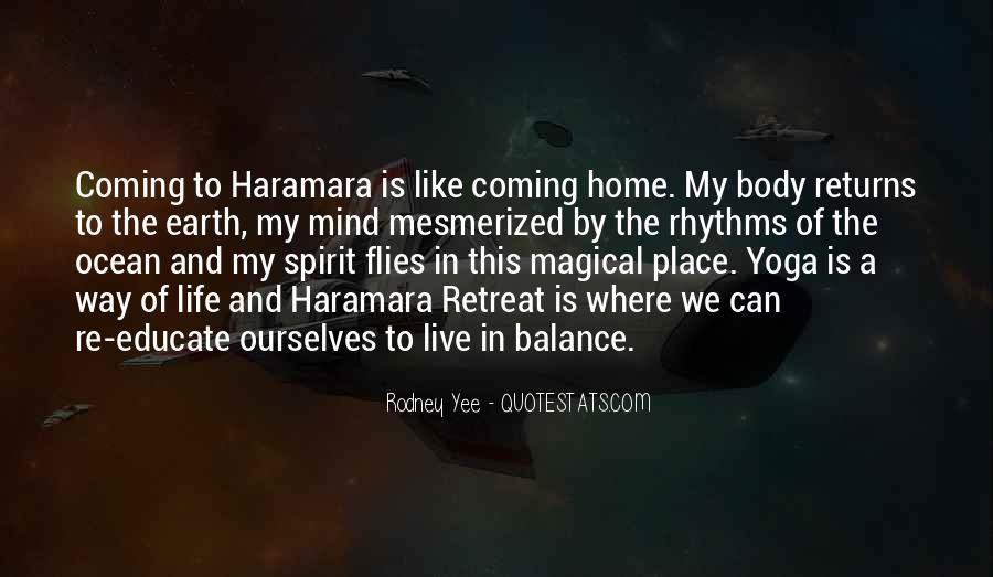 Rodney Yee Quotes #1027327