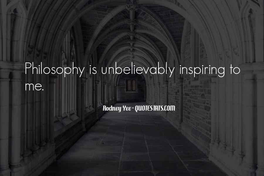 Rodney Yee Quotes #225527
